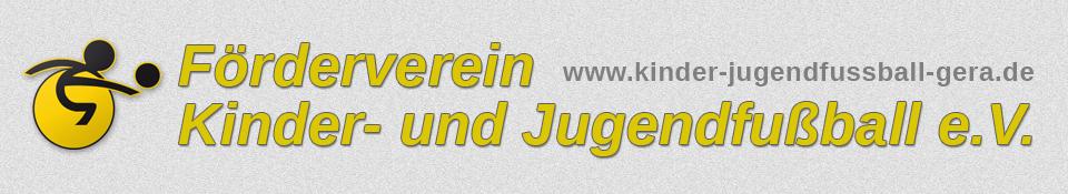 Förderverein Kinder und Jugendfussball Gera
